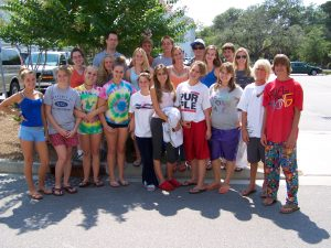 Middle School Students and Mission Work