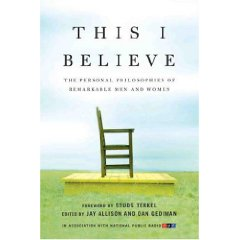 Review of This I Believe and This I Believe II