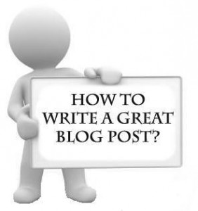 Elements of a Great Blog Post