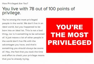 Check Your Privilege