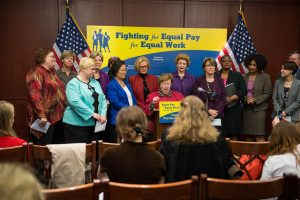 Fighting for Equal Pay for Equal Work by Senate Democrats - https://www.flickr.com/photos/sdmc/17147154572/