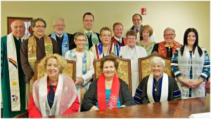 Clergy Participating in SW Florida 2015 PFLAG Convocation - photo by Bob Kelly