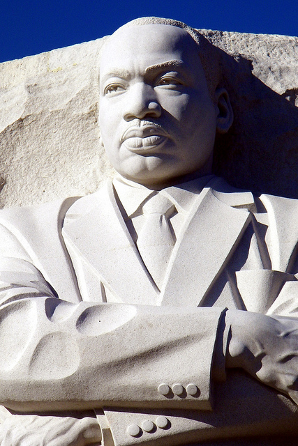 a literary analysis of martin luther king jr