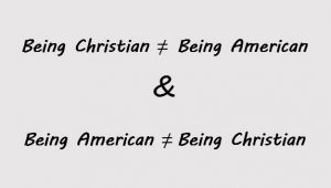 Being American, Being Christian?
